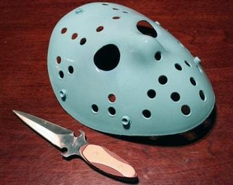 8-bit NES Jason Voorhees Friday the 13th Nintendo Hockey Mask