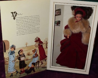 Hallmark Special Edition Victorian Elegance Barbie NFB First in Series 1994