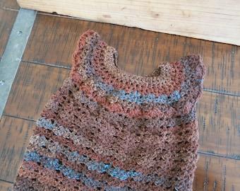 Crochet Toddler Dress (12 - 18 months)