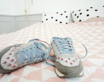 SUMMER Sneakers hand embroidered