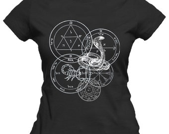 Pentacles of Mars Women's T-Shirt
