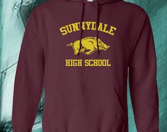 Buffy the Vampire Slayer shirt - Sunnydale High School hoodie, buffy sunnydale hooded sweatshirt, Buffy the vampire slayer hoodie, jumper