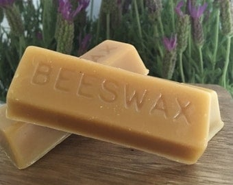 Natural Beeswax Ingot