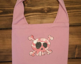 Sugar Skull Slouch Bag /Sugar Skull Book Bag / Sugar Skull Messenger Bag/ Sugar Skull Beach Bag / Over sized Slouch Bag !