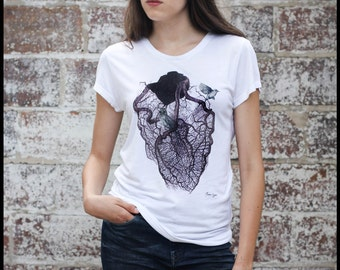 "T-Shirt woman ""The cage"""