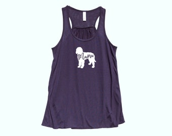 "Labradoodle  ""MAMA"" - Fit or Flowy Tank"
