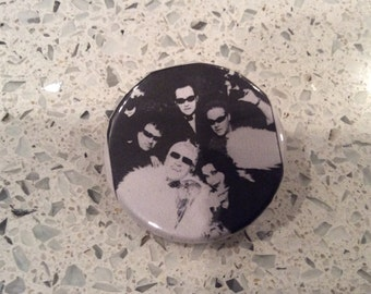 The Damned Grave Disorder Captain Sensible Dave Vanian Patricia Morrison Pin Button Badge