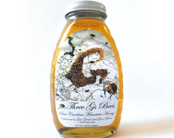 Award Winning Raw Blue Ridge Wild Mountain Honey
