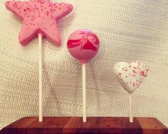 Cake Pops Valentines Day Sweetheart Cake Pops Made to Order