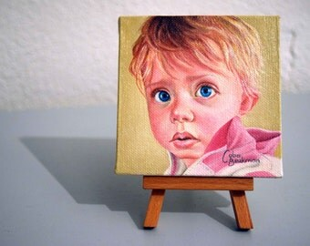 Custom oil painting, mini portrait, custom portrait, custom painting, portrait oil painting, personalized portrait, gift ideas, oil painting