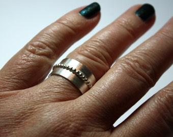 Silver ring Ethel
