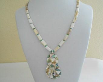 Abalone/Paua shell Thong #2816