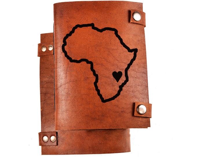 Africa journal - Africa map notebook - Malawi journal - Malawi notebook - Africa map journal - Africa notebook - journal Africa