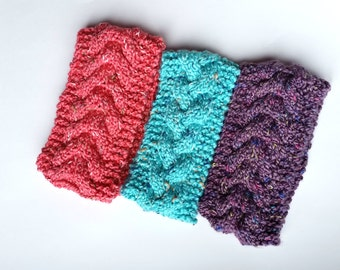 Handknit Chunky Headbands