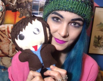 Handmade Tenth Doctor Plushie One of a Kind