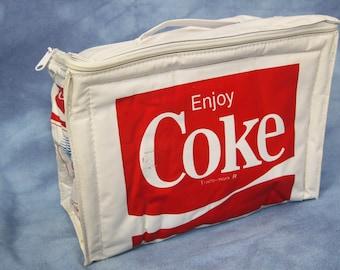 Vintage 80s Coke Olympic Cooler Bag // 1984 Olympics // Coca-Cola