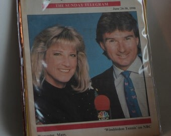 chris evert and jimmy connors 1990 tv time magazine wimbeldon 1970s 1980s tennis champions