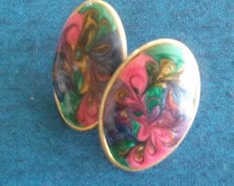 Vintage Swirl Earrings