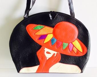 Lady G. Abaca Tote Bag