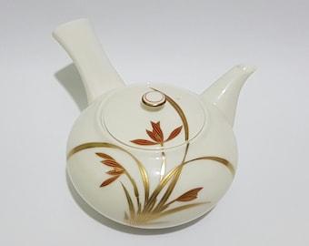 Koransha Porcelain Japanese Yokode Kyusu 急須 Teapot, CecysAsianShop