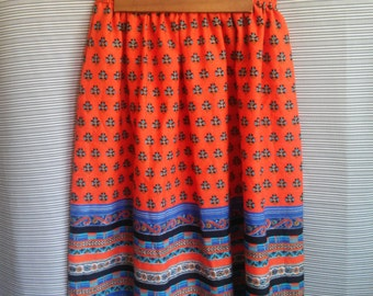 Up-cycled Peasant skirt