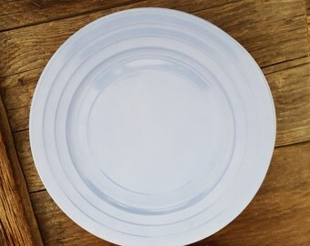 Moderntone Platonite Plates by Hazel Atlas in a Variety of Colors