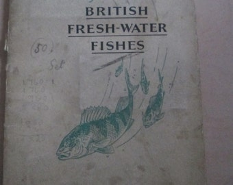 An Album of British Fresh-Water Fishes - John Player & Sons cards. Circa 1933