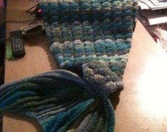 Crochet Mermaid Tail