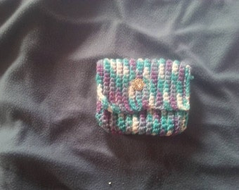 Crochet CellPhone Cover Or Wallet.