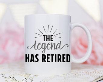 Retirement Gift, Gift for Retirement, Retirement Mug, Retirement, Retirement Gifts, Retired, Coffee Mug, Retiree Gift, Retirement Present
