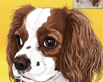 CUSTOM Portrait Illustration of your pets