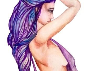 Blizzard Hair - Print