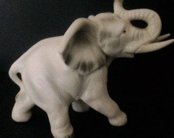 Lefton China Elephant Figurine
