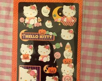 Sanrio Hello Kitty Halloween stickers 2011