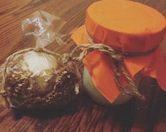 Orange infused Coconut Oil 16oz
