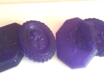 Deep Purple Victorian Soap