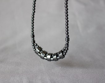 Vintage Graphite Necklace