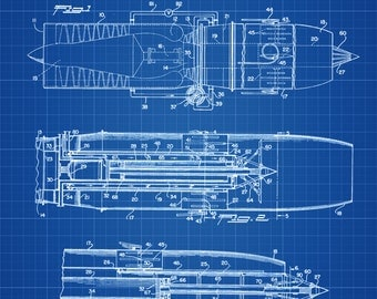 Turbo-Jet Engine Afterburner Patent - Airplane Blueprint, Airplane Art, Pilot Gift,  Aircraft Decor, Airplane Poster, Jet Patent
