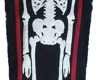 7 Foot/Life Size Coffin Quilt