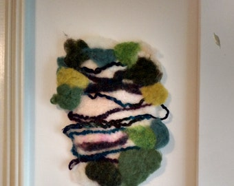 Felted Wall Decor
