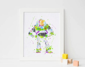 Toy Story poster Buzz Lightyear print Pixar poster Toy Story printable Toy Story art toy story party toy story wall art toy story decoration