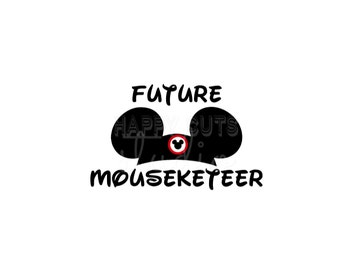 Future Mouseketeer Maternity Baby / Minnie Mickey Mouse Mom to be  Cap Hat Pregnancy Announcement Baby Iron On Decal Vinyl for Shirt 083