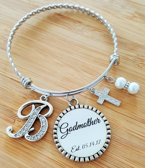 Godmother Gift / Gift for Godmother / GODMOTHER GIFT / GODMOTHER Bracelet / Christening Gift for Godmother / Godmother Baptism Gift