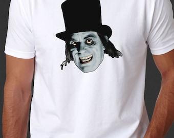 London After Midnight Lon Chaney Horror Film Goth White T-shirt S-6xl