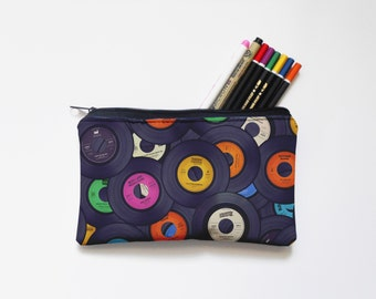 Zipper Pouch, Pencil Pouch, Pencil Case,