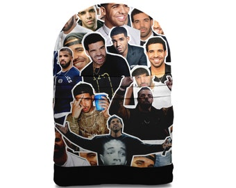 SALE! Drake Photo Collage backpack bag