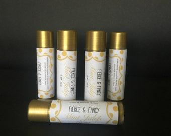MINT JULEP Lip Balm | HANDMADE Lip Balm | Natural Lip Balm | Homemade Lip Balm | Mint Julep