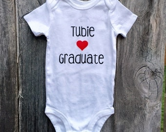 Tubie graduate shirt, Tubie shirt for boy, feeding tube graduate shirt, tubie shirt for girl