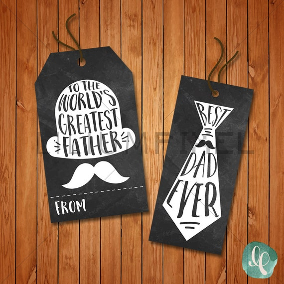 Items similar to Best Dad Ever Tag / Worlds Greatest ...