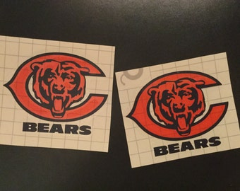 NFL Chicago Bears Decal